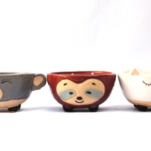 Sensilla animal planter pot