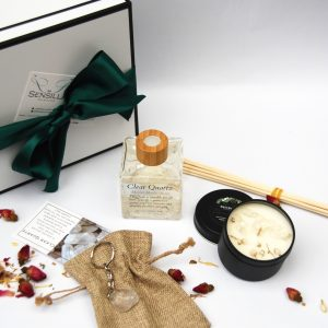 Sensilla clear quartz gift pack